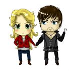 Chibi Captain Swan by XxAlexNightfirexX