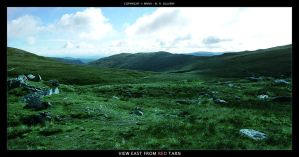 View East From Red Tarn by oggyb