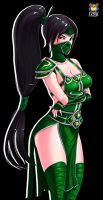 Akali normal skin by Kyoffie12