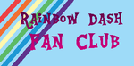 RAinbow Dash Fanclub Stamp by Colorcloud07
