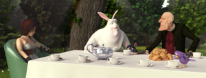Strange tea party by MaxEvil3D