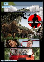 Jurassic GTS Preview 1 by zzzcomics