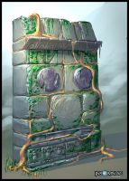 RCF2: Zolar Wall Detail by MeckanicalMind