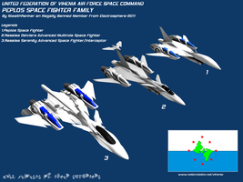 Peplos Spacecraft Family by Stealthflanker