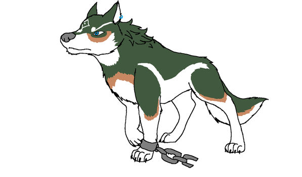 Wolf Link by XfangheartX