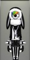 Bad Bunny (front) by LittleMsEnvious