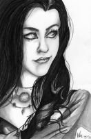 Amy Lee by Rybarsicle