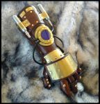 Steampunk Equalist Gauntlet MK2 by SteamViking