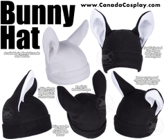 Bunny Rabbit Hat by calgarycosplay