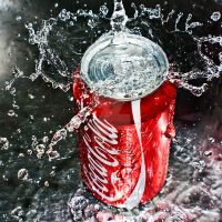 coca cola by SaphoPhotographics