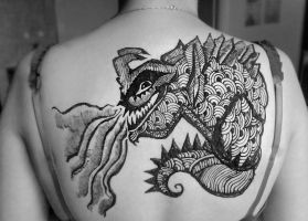 DeviantArt: More Like Kaiju Henna2 by cydienne