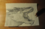 Smaug the Magnificent by Keshyx