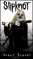 Shawn Crahan by Hellknight10