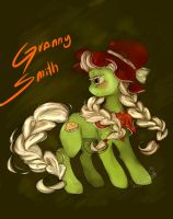 Young Granny Smith by Prodigymysoul
