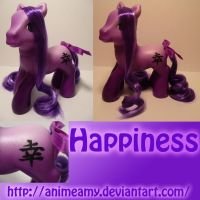 Happiness Kanji Pony by AnimeAmy