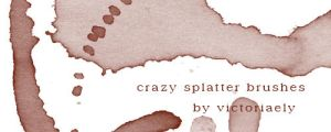 Crazy splatter by victoriaely