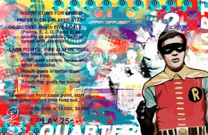Blur The Technicolor by noQuarterstudios
