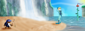 Rosalina in Noki Bay by ZeFrenchM