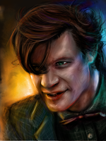 Dr Who - Matt Smith by Aquila--Audax