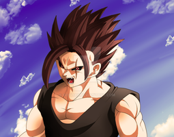 Angry man by Gothax