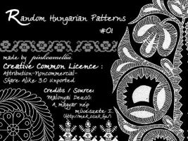 Random Hungarian Patterns I. by pinkcamellia