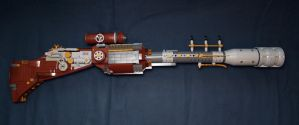LEGO. Steampunk rifle by DwalinF