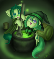 The Art of Potion Making by SpectralPony