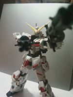 Robot Damashi Unicorn Gundam NTD mode by Dark-Hound