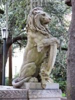 Lion Statue : 03 by taeliac-stock