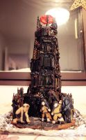 Eye of Sauron Gingerbread Tower by Mobicca