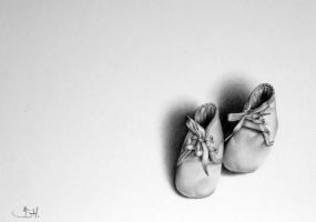Vincent's First Shoes by IleanaHunter