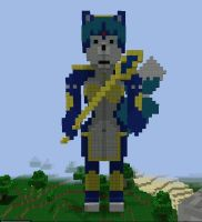 Krystal minecraft by Elssir