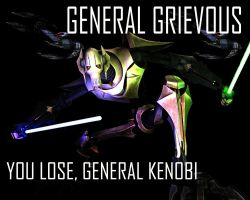 General Grievous Wallpaper 2 by Lordstrscream94
