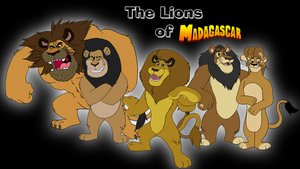 The Lions of Madagascar by BennytheBeast