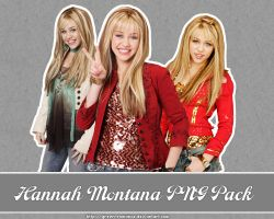 Hannah Montana PNG Pack 02 by Green-Romance