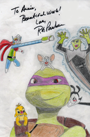 Rob Paulsen collage by theneopetmaster