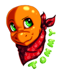 Gift - Wild Charmander by TouchedVenus