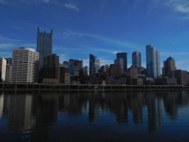 Pittsburgh from Station Square by EclipsePegasus