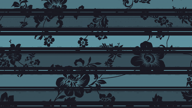 Blue Flowers Wallpaper by StrawberryHollow
