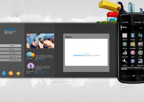Nokia 5800 Website by Magableh