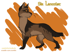 Cats of Camelot: Lancelot by CatsInTheClouds