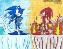 Snow miser and Heat miser by SupaSilver