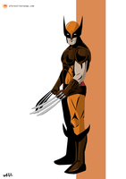 Wolverine (X-Men) by FeydRautha81