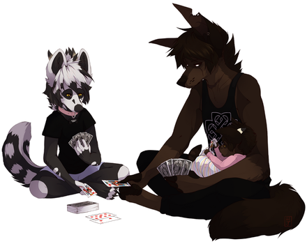 Quality time by puppkin