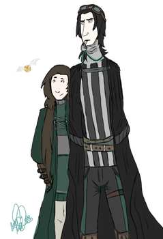 Severus Snape the Quidditch Referee by SkyrimGamer25