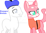 Shima Luan and Danger Dolan by HEARTSONGDROWNED