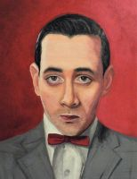 STOLEN Pee-Wee Herman portrait by nerdifer