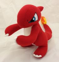 Pokemon - Charmeleon custom plush by Kitamon