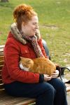 Woman with Cat by neonstz