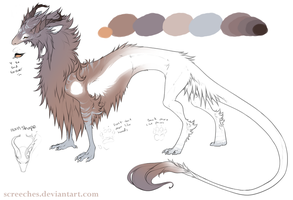 Floofdragon DC by Screeches